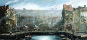 Port of Adoulin by Kenichiro Tomiyasu