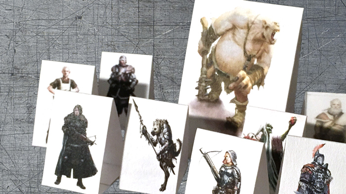 How to Make Paper Minis - The Heroes of Awesome